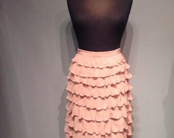 Moschino pink skirt