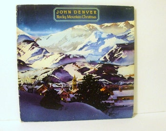 John Denver Rocky Mountain 1975 Christmas, A Must Have in Good Clean Condition.