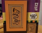 SPOOKY-TREATS Lizzie Kate Double Flip Leaflet #F82 - New With Buttons
