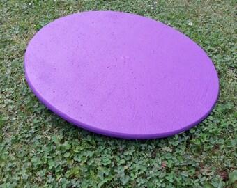 "Dog Agility Equipment-Wobble Board 22"" round-purple"