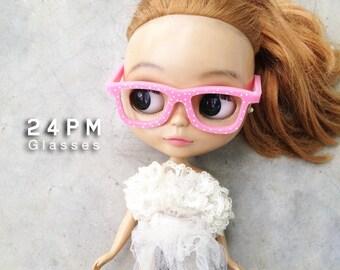 Nerd glasses-Mini Polka dots-For Blythe-Best Selling.