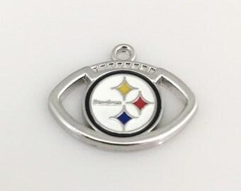 Pittsburgh Steelers Football Charm