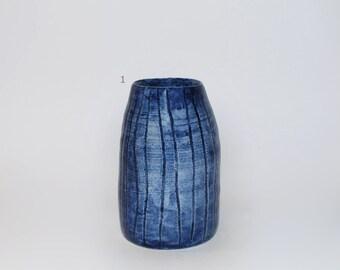 Cobalt Blue Mini Vessel #2