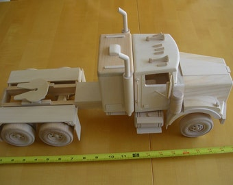 Handmade Wooden Tractor Cab