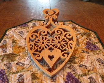 Heart Trivet