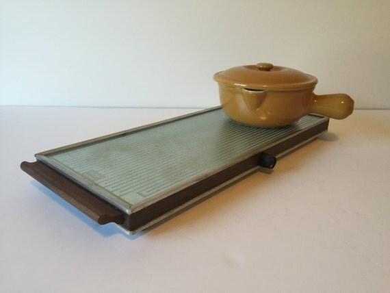 vintage salton plate warmer salton hotray automatic food. Black Bedroom Furniture Sets. Home Design Ideas