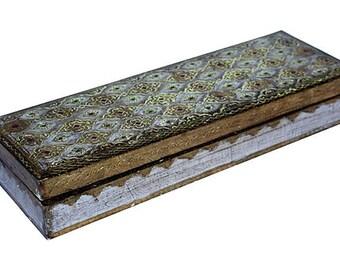 Italian Florentine Glove Box