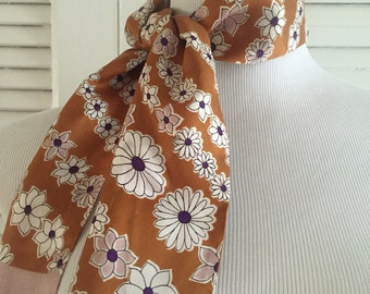 Vintage Floral Headscarf