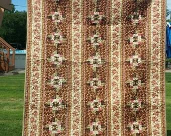 Civil War Reproduction Wallhanging Handmade Quilt