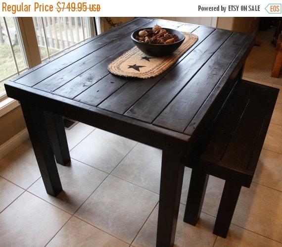 Pub Style Kitchen Tables: 25% OFF 6-FT Unique Primtiques Primitive Black By