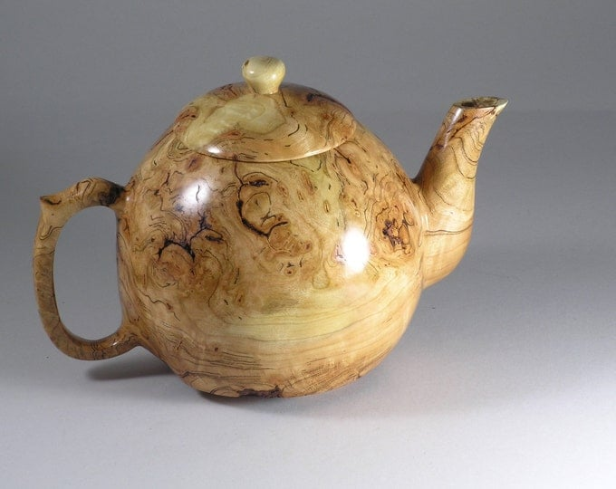 Cherry Burl Teapot
