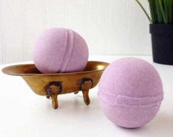 Huckleberry Mini Bath Bomb, Purple Bath Bomb, Berry Bathbomb, Berry Scented Bath Fizz, Small Bath Bomb, Little Bath Bomb, Huckleberry Bath