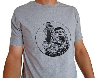 Sloth, fairtrade organic shirt for men, 100% organic cotton