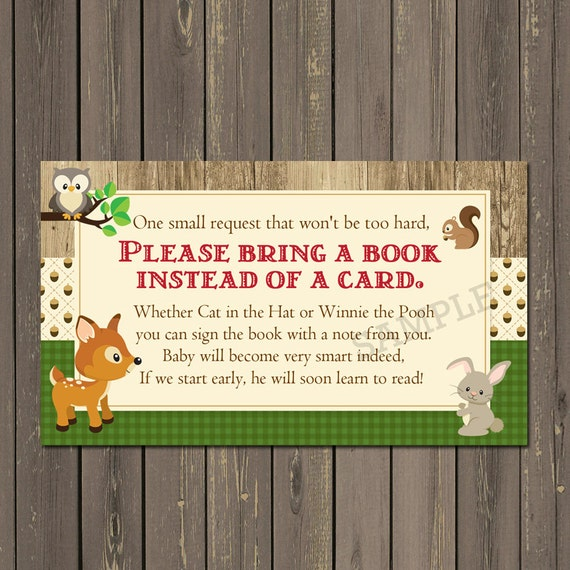 woodland baby shower invitations forest animals shower, Baby shower invitations