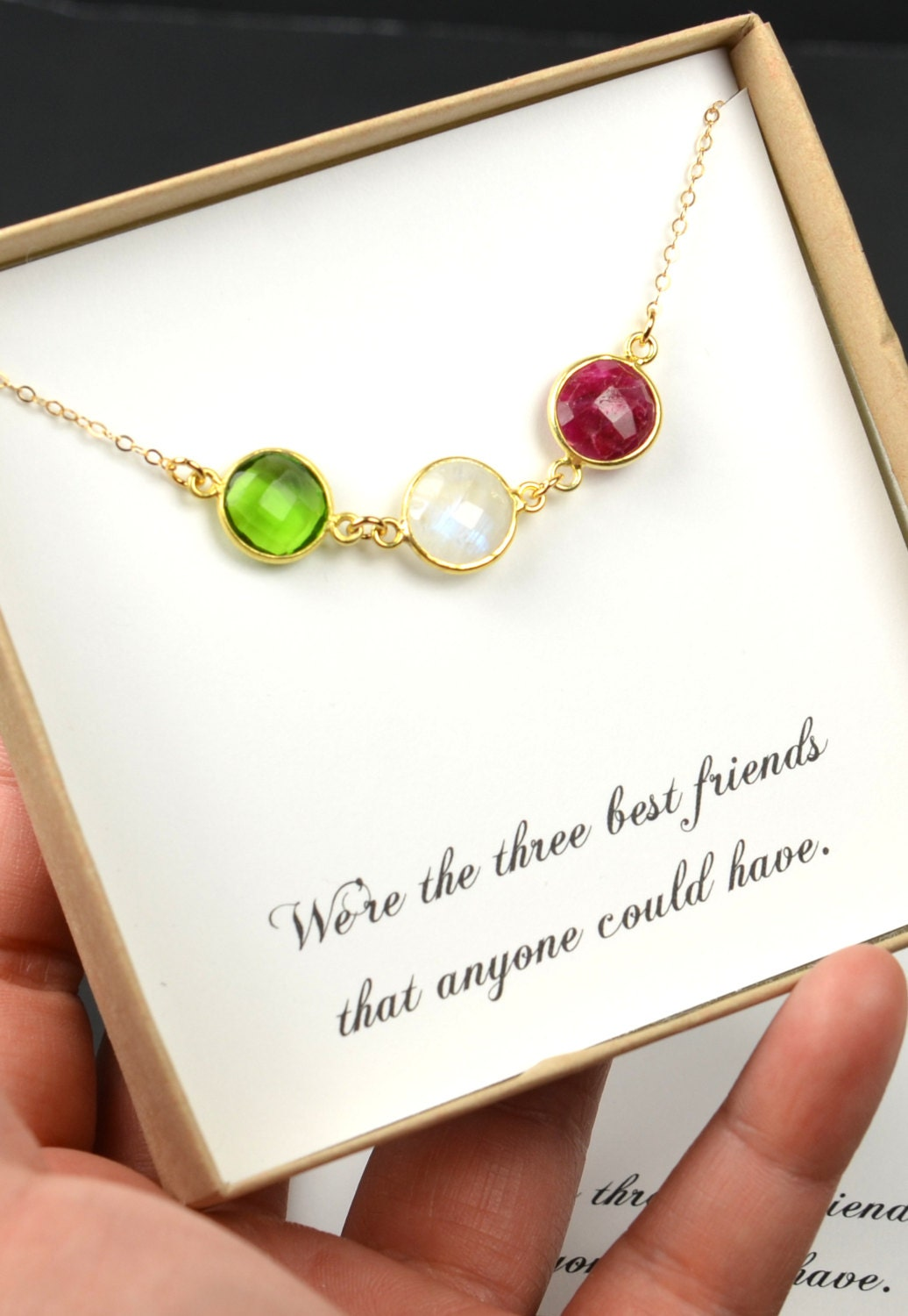 Best Friend Gifts Friendship Bracelet Necklace Personalized