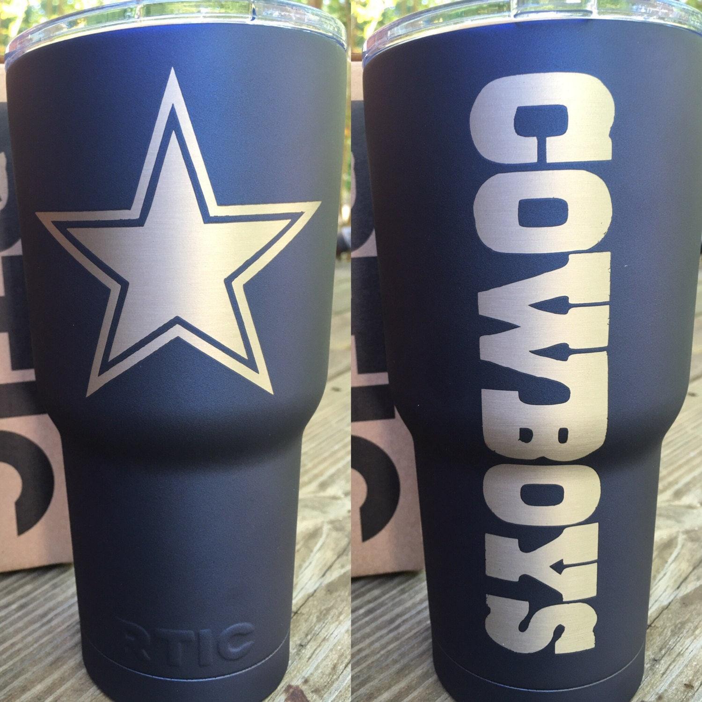 Yeti Axis 30oz Dallas Cowboys Powder Coat Stainless Tumbler No