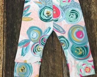 Sprayed blooms leggings