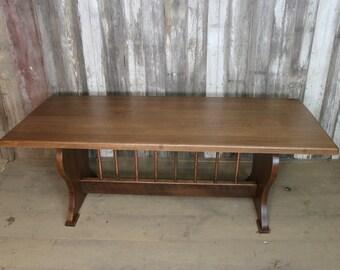 sale reclaimed quarter sawn white oak farmhouse table ready to ship - Farmhouse Table For Sale