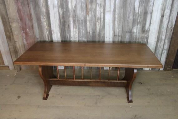 SALE Reclaimed Quarter Sawn White Oak Farmhouse Table
