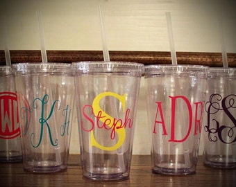 Personalized/Monogrammed Tumblers