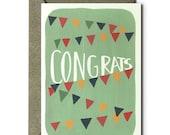 Congrats - Greeting Card