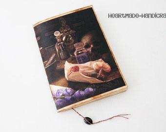 Handmade Recipe book for RPGs, Alchemy