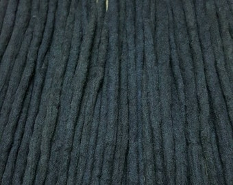 Wool Dreadlocks Custom Wool Dreads Handmade Hippie Dreads Hair Extensions Wool Dreads Hair Accessories Set of 60