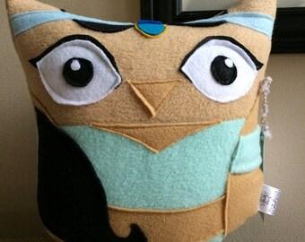 Aladdin and Jasmine Owl Plushie set- Inspired by The Movie Aladdin- Set Of 2 Owl Plushies