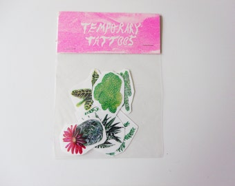 Plants Temporary Tattoo Pack