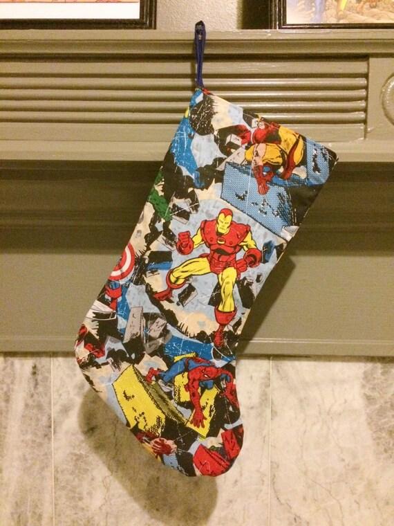 Marvel Avengers Christmas Stocking |Marvel Stockings