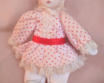 Doll, Russ Berrie Bisque Porcelain Baby Doll