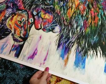 ART PRINT (A2) 'Wilderness'