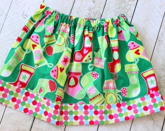girls christmas skirt christmas skirt Christmas clothin for girls skirt baby girl skirt for christmas red pink aqua green christmas outfit