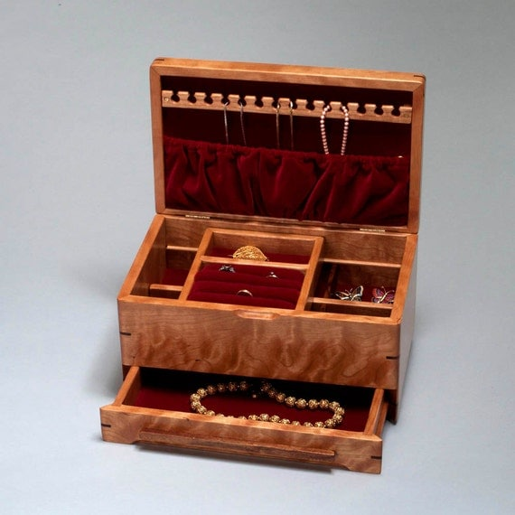 jewelry box jewelry box with ring holder necklace