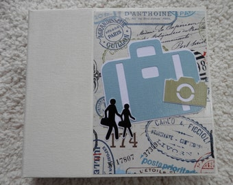 6 x 6 Vacation or Travel Scrapbook Album