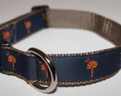 SC Palmetto Flag Collar-Orange