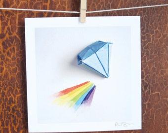 "030/100 - ""100 Days"" Project print"