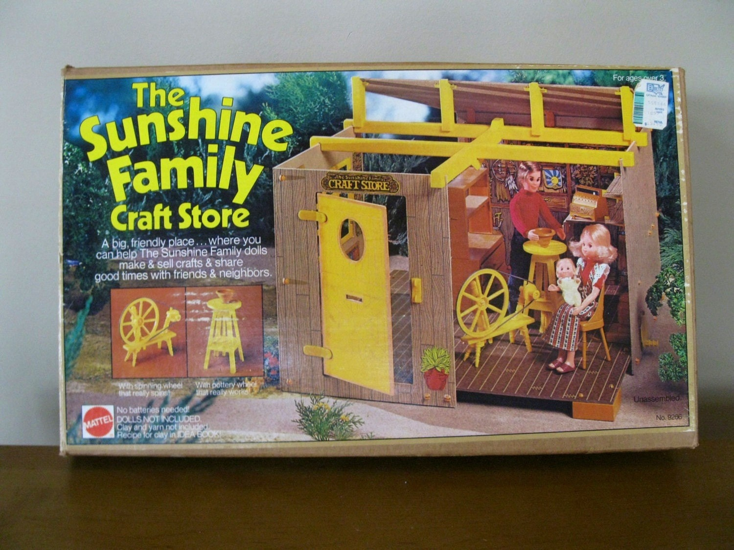 Sunshine family craft store original box near complete for Where is a craft store near me