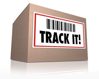International parcel tracking