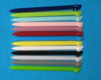 1 - One 3DS XL Plastic Stylus Pen Only - You Pick Color