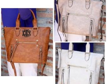 Monogrammed Purse Tassel Handbag