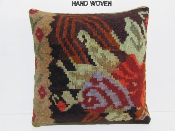 chair cushion cover 20x20 floor throw pillow kilim floor. Black Bedroom Furniture Sets. Home Design Ideas