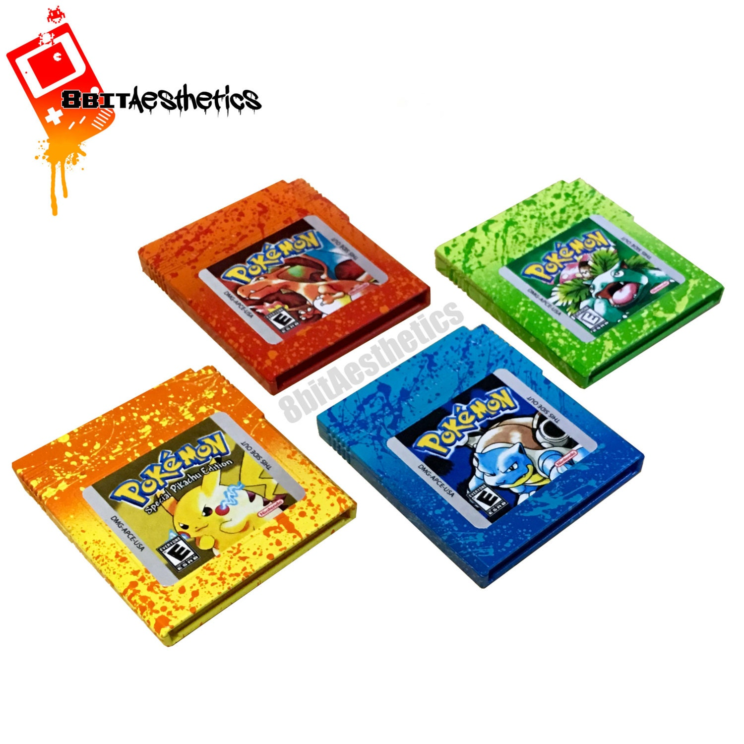 Gameboy color and pokemon yellow -  Zoom