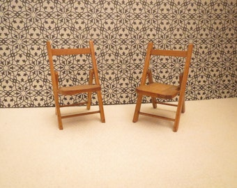 1/12 Scale Doll House Chairs