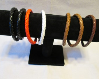 Thick Braided Bracelet in 5 colors