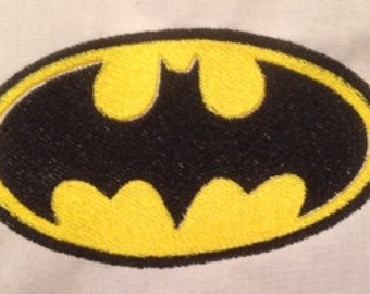 Batman Machine Embroidery Design