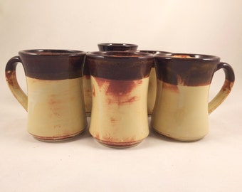 Set of 6 coffee mugs