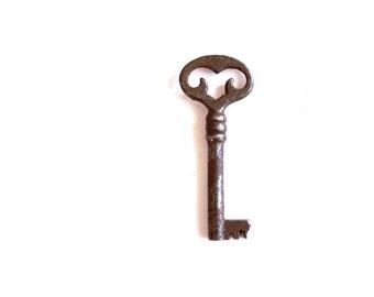 Ornate Heart Key Heart skeleton key to my heart lock key industrial steampunk jewelry vintage keys old keys rustic home decor 215