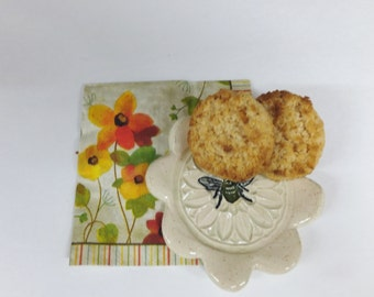 Honey Bee Spoon Rest, Ring Holder,  Soap Dish