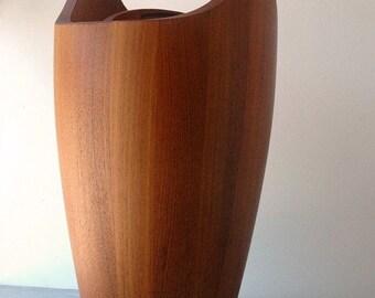 Mid Century Modern Danish Modern Dansk Congo Jens Quistgaard Staved Teak Ice Bucket